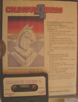 Colossus 4 chess tape